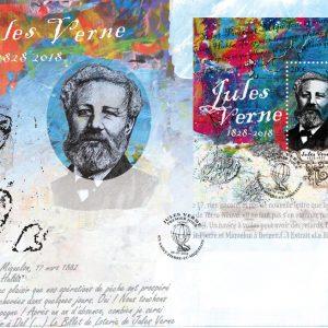Souvenir philatélique Jules Verne