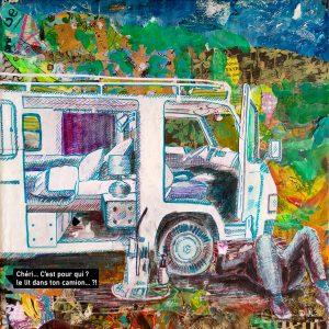 """Jour 19 """"Un lit dans ton camion…"""""""