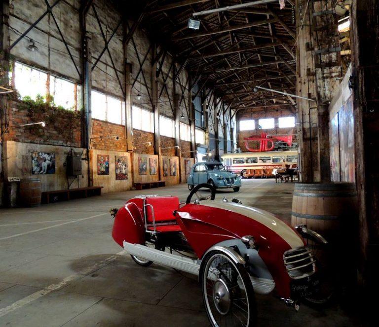 Marie-Laure au Garage Moderne