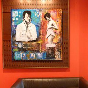 La visite médicale 150 x 150 cm