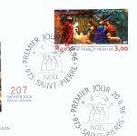Timbre Noël 1996