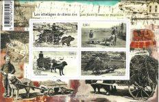 Bloc feuillet cartes postales anciennes